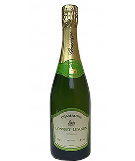 Champagne Demi Sec - Domaine Convert Lusquin 75cl