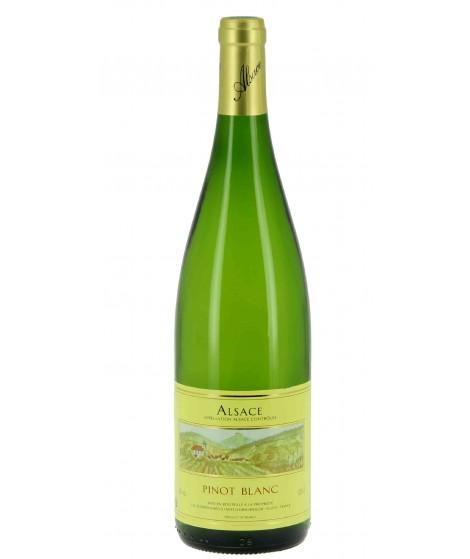 Vin blanc D'Alsace Pinot Blanc - Cave Orschwiller 100cl