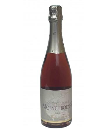 Crémant d'Alsace Brut Rosé - Moenchborner 75cl