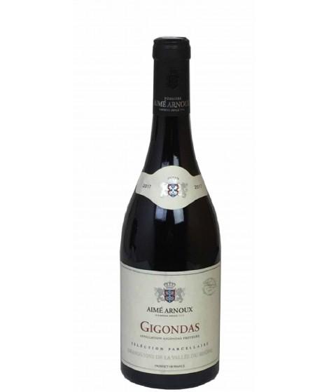 Vin Rouge-Rhône-Gigondas -Sélection Parcellaire-Domaine Aimé Arnoux 75cl
