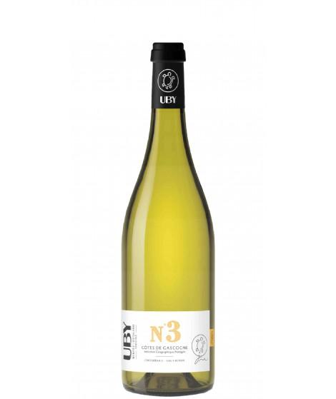 Vin blanc sec UBY n°3 - Colombard-Ugny Blanc 75cl