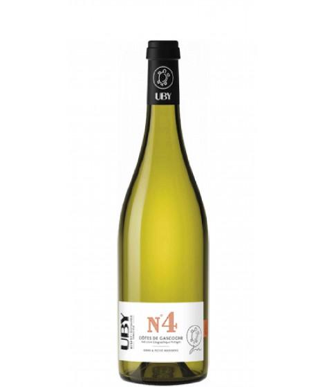 Vin blanc moelleux UBY n°4 - Gros et Petit Manseng 75cl