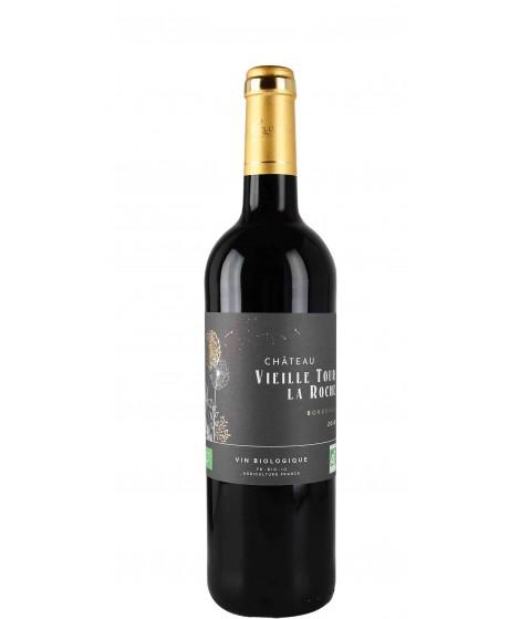 Vin Rouge Bordeaux Bio- Château Vieille Tour La Roche 75cl