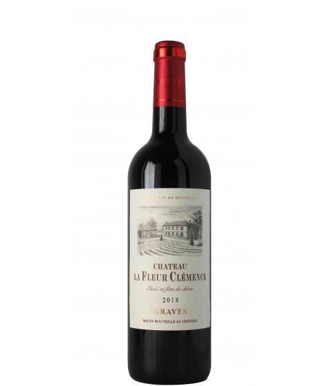 Vin Rouge Bordeaux Graves - Château Lafleur Clémence 75 cl