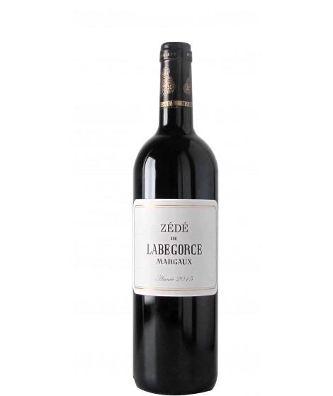 Vin Rouge Bordeaux Margaux - ZÉDÉ DE LABEGORCE75cl