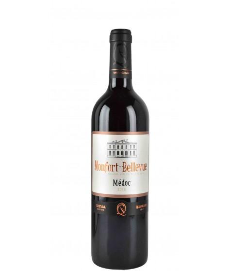 Vin Rouge Bordeaux - Médoc - Montfort Bellevue 75cl