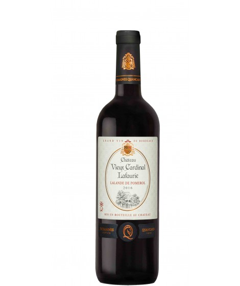 Vin Rouge Bordeaux Lalande de Pomerol - Château Vieux Cardinal Lafaurie 75cl