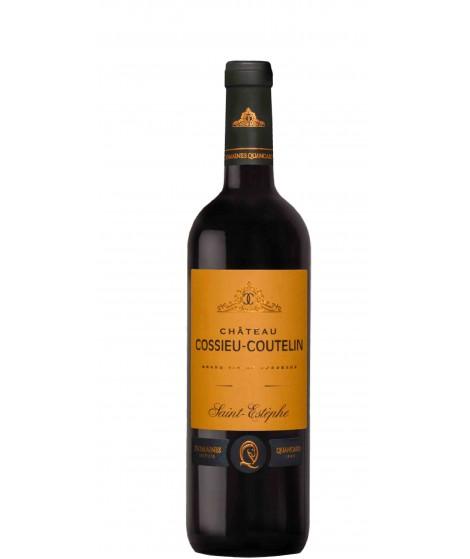 Vin Rouge Bordeaux Saint-Estèphe - Château Cossieu-Coutelin Cheval Quancard 75cl