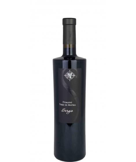 Vin rouge IGP Méditerranée- Cuvée Sergio Rouge - Domaine Terre de Mistral 75cl