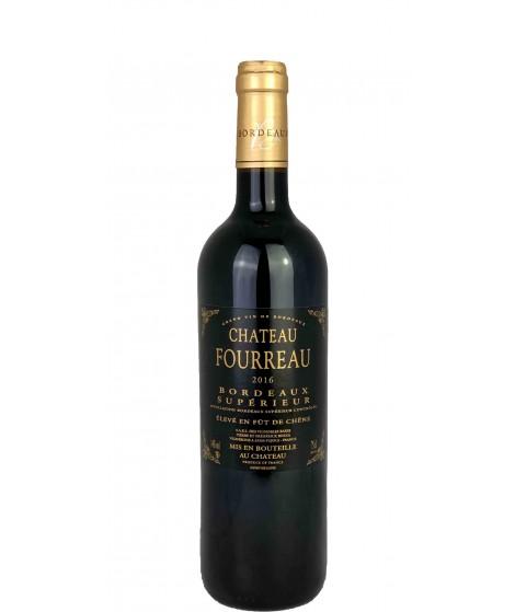 Vin Rouge Bordeaux Supérieur Château Fourreau 75cl