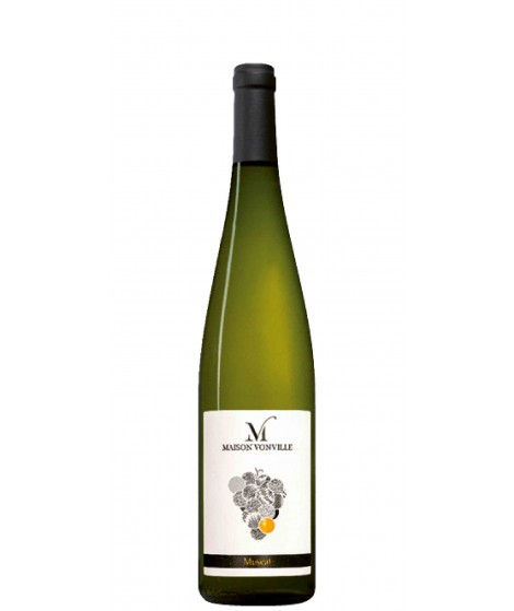 Vin d'Alsace blanc Muscat- Domaine Vonville 75cl