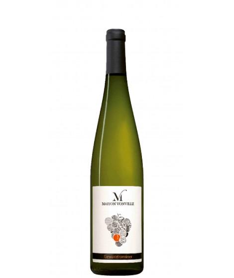 Vin d'Alsace blanc Gewurztraminer- Maison Vonville 75cl