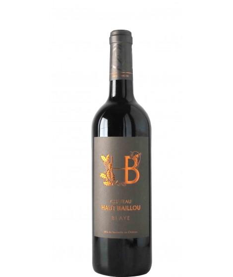 Vin Rouge Bordeaux Blaye - CHATEAU HAUT BAILLOU 75cl