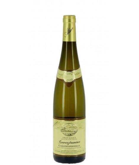 Vin blanc D'Alsace Gewurtzraminer - Cuvée Exceptionnelle 75cl