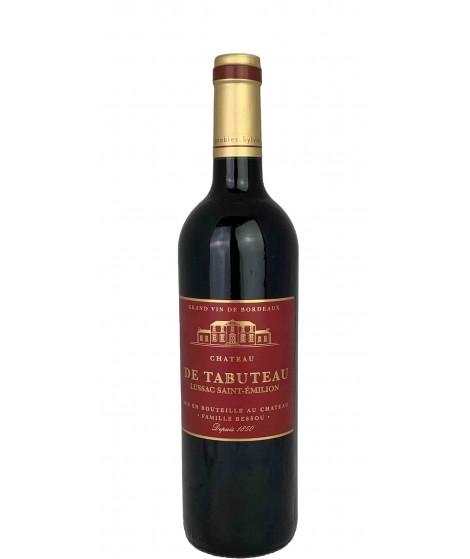 Vin rouge Bordeaux-Lussac Saint Emilion Château de Tabuteau 75cl