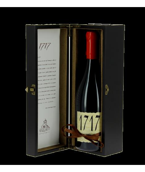 Vin Rouge-Rhône-Vacqueyras 1717 - Seigneur de Lauris - Coffret Prestige 75cl