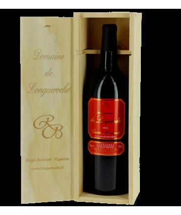 Magnum (150 cl) Corbières Cuvée Réservée - Domaine de Longueroche - caisse bois