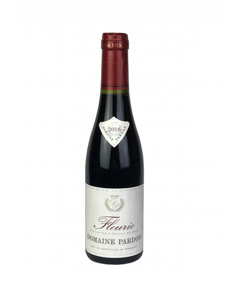 Vin rouge Beaujolais Fleurie - Domaine Pardon 37,5cl