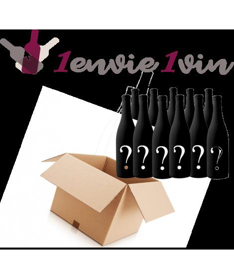 Pack de vins Mystère 12 Bouteilles