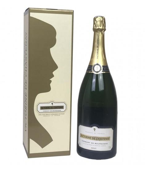 Coffret Magnum Crémant de Bourgogne Victorine de Chastenay 150cl