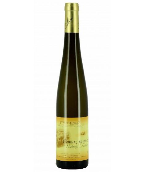 Vin blanc D'Alsace Gewurztraminer - Vendanges Tardives 50cl