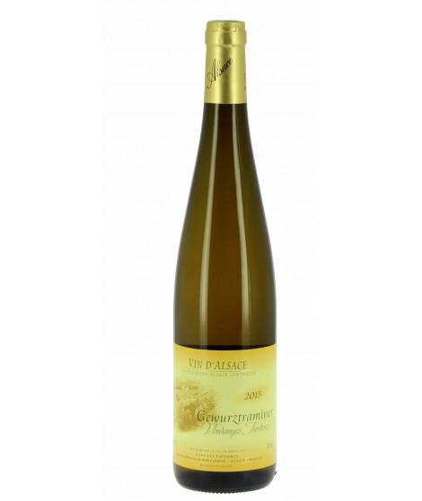 Vin blanc D'Alsace Gewurztraminer - Vendanges Tardives 75cl