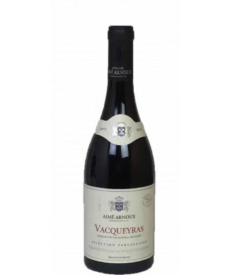 Vin Rouge Rhône -Vacqueyras - Sélection Parcellaire-Aimé Arnoux 75cl
