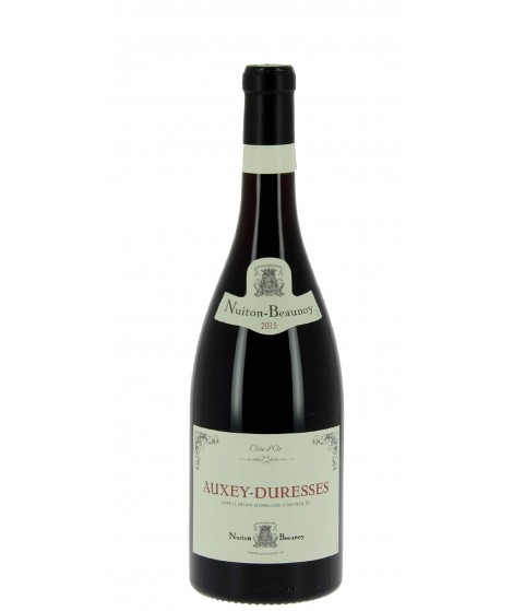 Vin Rouge Bourgogne Auxey-Duresses - Nuiton Beaunoy 75cl