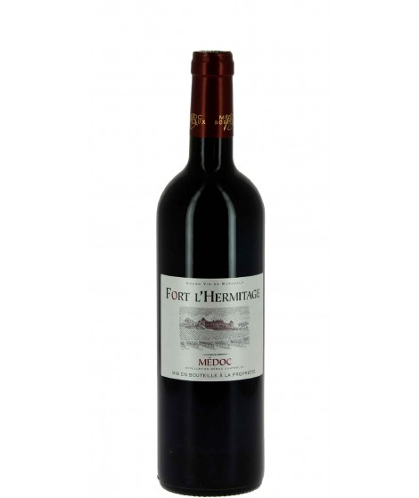 Vin rouge Bordeaux Médoc - Fort L'Hermitage 75cl