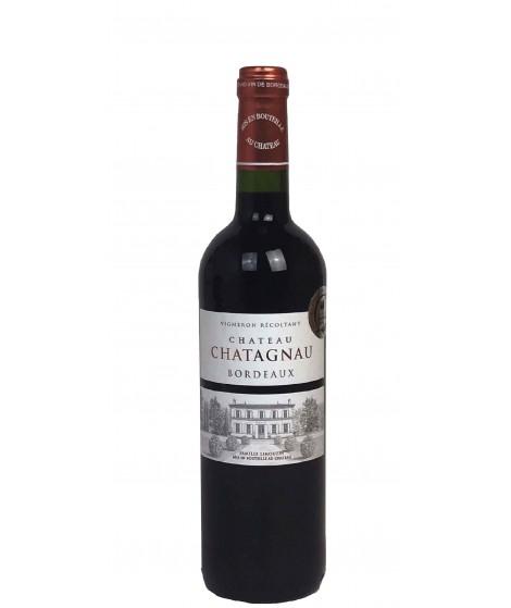 Vin rouge Bordeaux - Château Chatagnau 75cl