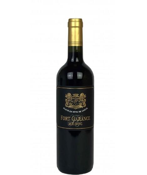 Vin rouge Bordeaux Médoc Fort Garance 75cl