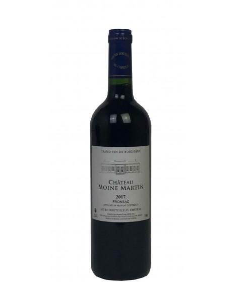 Vin rouge Bordeaux Fronsac Moine Martin 75cl